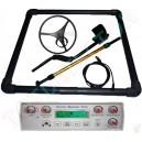 """Pulse Master Pro Detector de Impulsos, Marco de 1m x 1m + BOBINA 18"""" DD (45cm)"""