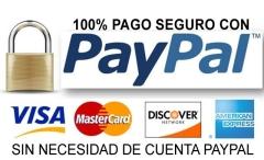 PayPal, pago 100% seguro.