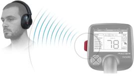 Auriculares y módulo Bluetooth.