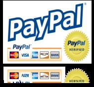 Pago seguro con PayPal.